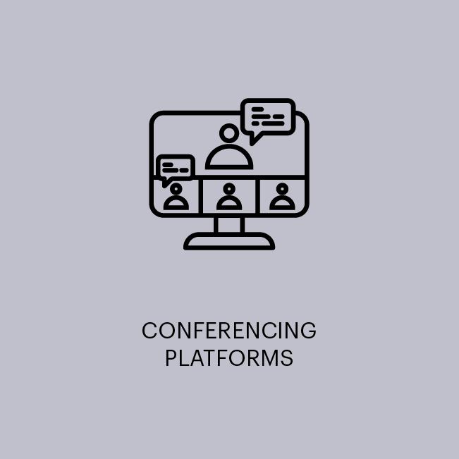 CONFERENCING PLATFORMS