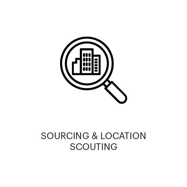 SOURCING & LOCATION SCOUTING