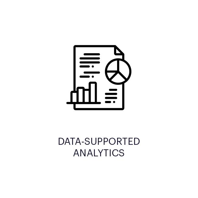 DATA-SUPPORTED ANALYTICS