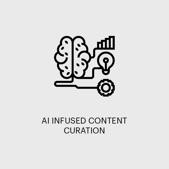 AI INFUSED CONTENT CURATION
